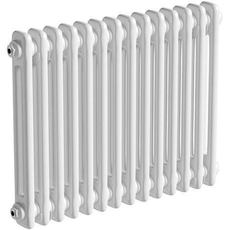 The Heating Co. Corso white 2 column radiator 500 x 834