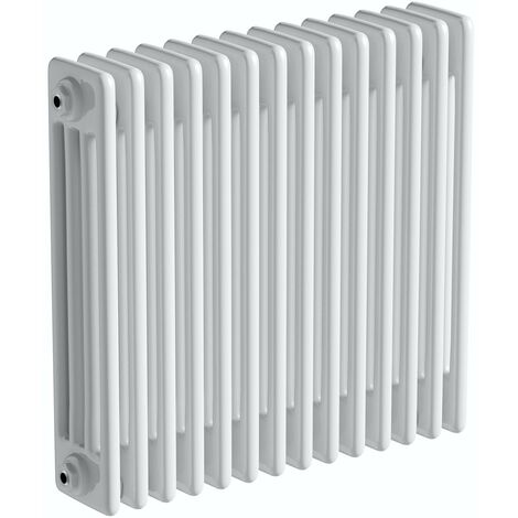 The Heating Co. Corso white 4 column radiator 600 x 1014