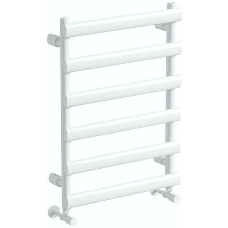 The Heating Co. Cruz white radiator 700 x 500