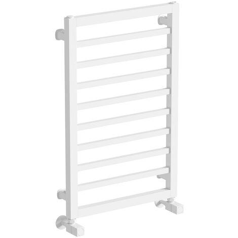 The Heating Co. Lagos white heated towel rail 1150 x 450
