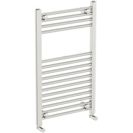 The Heating Co. Phoenix chrome heated towel rail 1400 x 300