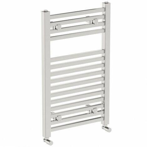 The Heating Co. Santiago heated towel rail 800 x 300