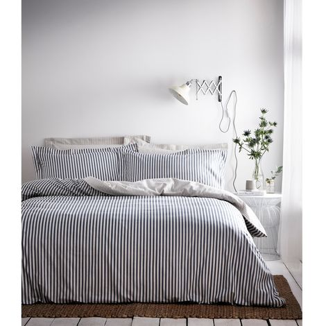 The Linen Yard Hebden Duvet Cover Set