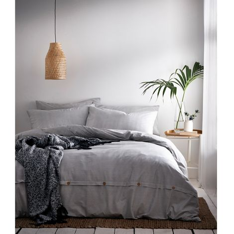 The Linen Yard Holbury Duvet Cover Set
