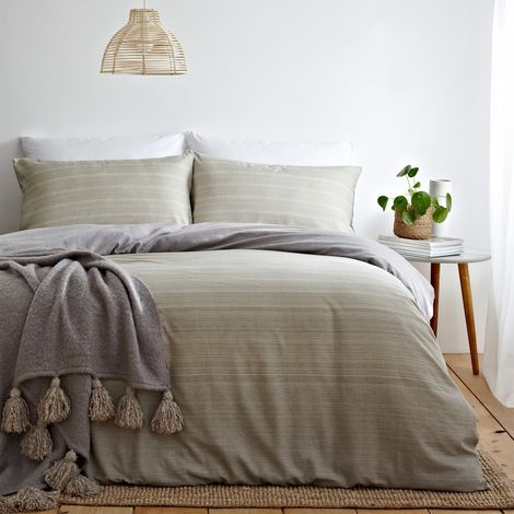 The Linen Yard Signature Ombre Duvet Cover Set
