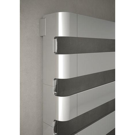 The Radiator Company BDO Step Aluminium Horizontal Designer Heated Towel Rail 310mm x 1500mm Chrome