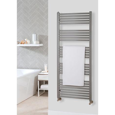 The Radiator Company Lupin Steel Vertical Designer Heated Towel Rail 1866mm x 600mm RAL