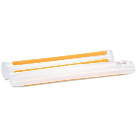 "main image of ""The Shrunks Inflatable Bed Rail 2pcs White - White"""