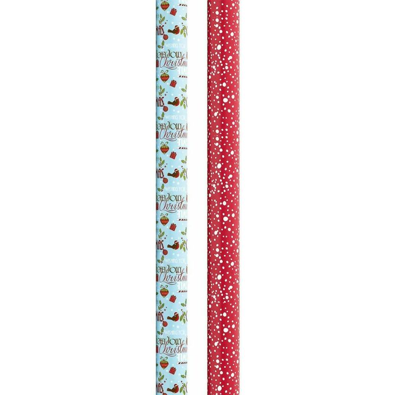 Image of The Smith Reversible Gift Wrap 3Mx69CM (Approx)