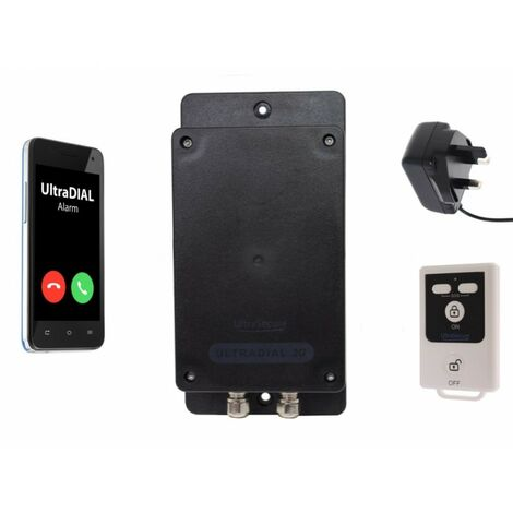 'The UltraDIAL' Covert GSM Alarm with Mains Adapter