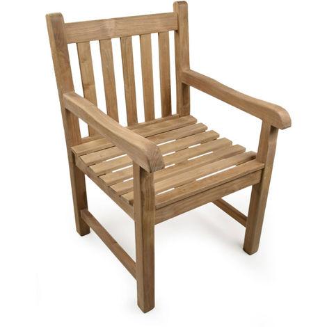 The Warwick Teak Arm Chair