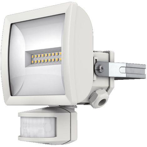 theben 1020811 | theben 1020811 - projecteur led+detec 10w blanc theleda ec10 wh