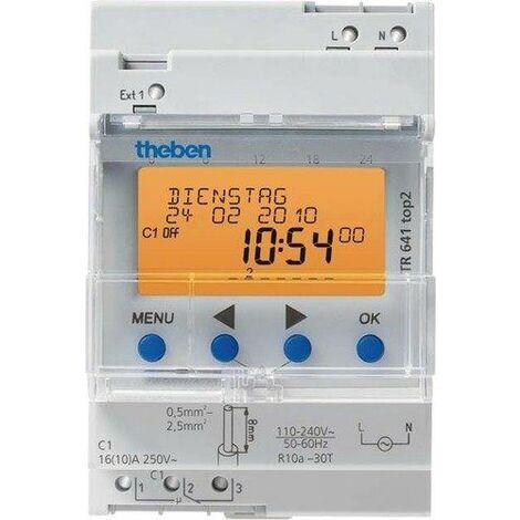 Theben 6410100 Horloge programmable digitale TR 641 TOP2