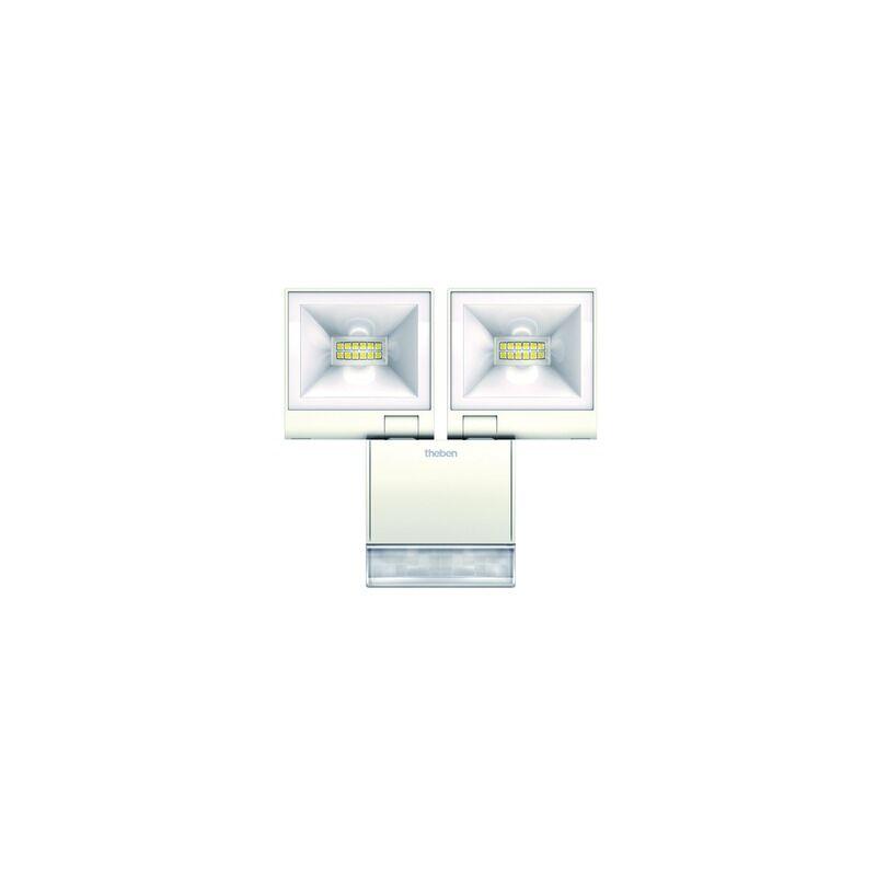 LED-Strahler 20W theLeda 4000K 1680lm ws 2LEDs IP55 mt breitstrahlend m.BWM - THEBEN