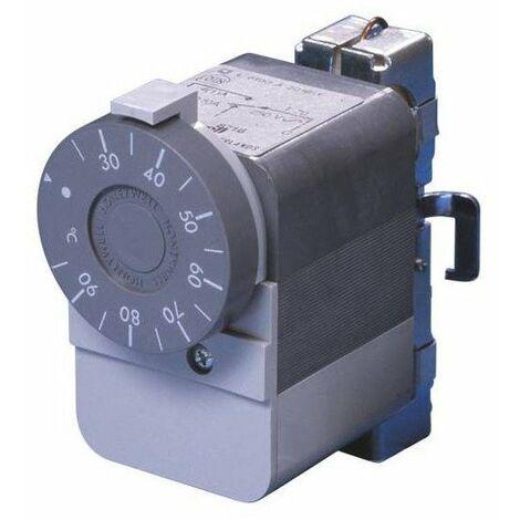 Themostat réglable Aquastat pour canalisation ou cuve - 25 à 95° - SPDT - Diff 8K - avec collier