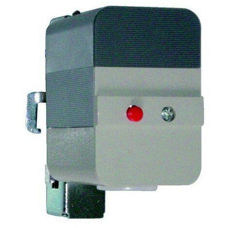 Themostat réglable Aquastat pour canalisation ou cuve - 25 à 95° - SPDT - Diff mauel - avec collier