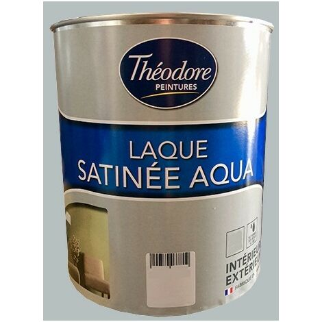 Théodore Laque Satinée Aqua Gravier - 0,5 L