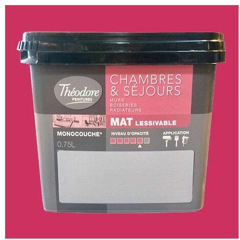 Théodore Peinture Chambres & Séjours Mat Kiss - 0,75 L