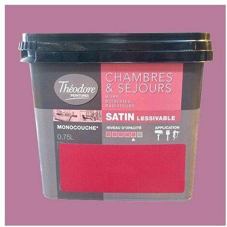 Théodore Peinture Chambres & Séjours Satin Bali - 0,75 L