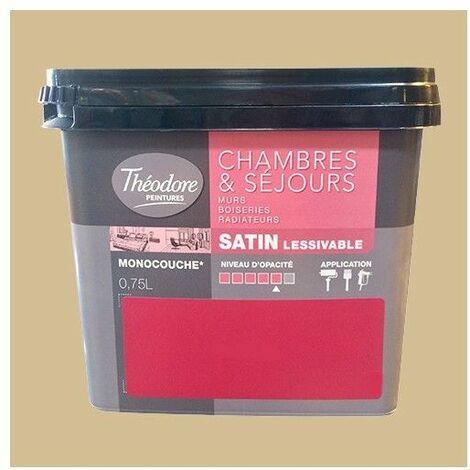 Théodore Peinture Chambres & Séjours Satin Liane - 0,75 L