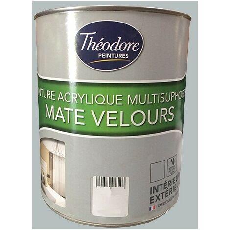 Théodore Peintures Acrylique Multisupports Mate Velours Gravier 0,5 L - Gravier