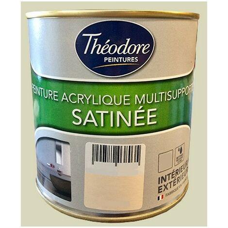 "main image of ""Théodore Peintures Acrylique Multisupports Satinée Sable - 0,5 L"""