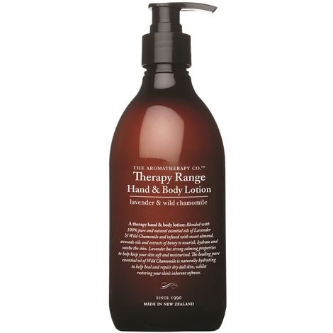 Therapy 500ml Hand & Body Lotion Lavender & Wild Chamomile