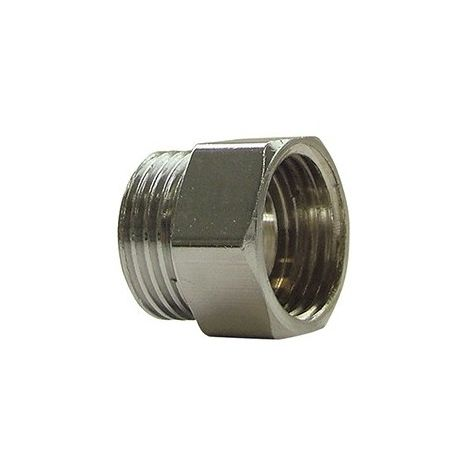 "Thermador 246E12CH - Nipple MF 3/8"" equal chrome"