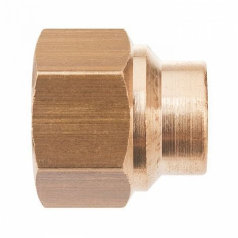 "Thermador 270GC1412 - connection Brass straight to welding - F 3/8"" -"