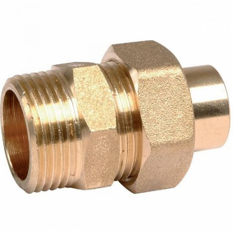 "Thermador 341GC1215 - connection union Brass straight to welding - M 1/2"" -"
