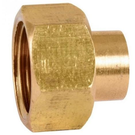 Thermador 359GCL1412 - connection Brass straight 2 pieces to welding -