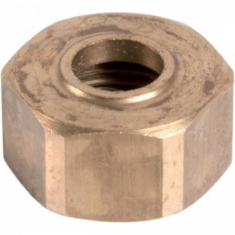 "Thermador 374G1420 - Hex Brass Nut to screw - F3/4"" -"