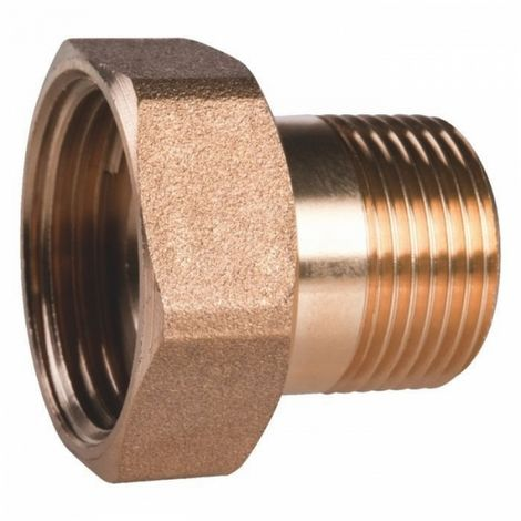 "Thermador ZRU2015 - connection Brass hexagonal reduced to screw - M 3/4"" - M 1/2"""