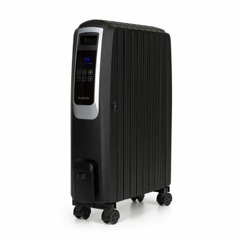 """main image of """"Thermaxx Noir Radiateur à huile 2500W 10-30° C minuterie télécommande"""""""