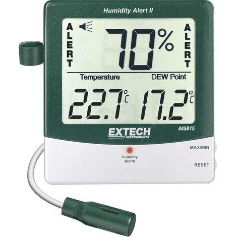 Thermo-hygromètre Extech 445815 avec alarme et point de rosée