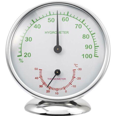 Thermo-hygromètre Renkforce 6510 Alu aluminium