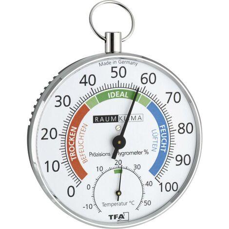 Thermo-hygromètre TFA Dostmann 45.2027 45.2027 argent 1 pc(s)
