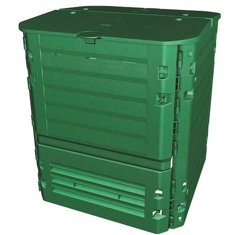 THERMO KING - Silo à compost 400 à 900 L - Vert - Polypropylène - GRAF