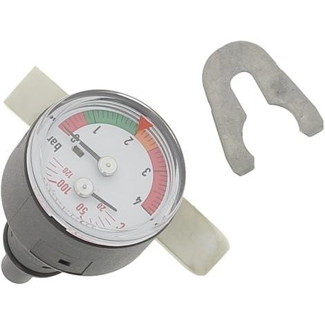 Thermo/manomètre Réf S101763 DE DIETRICH