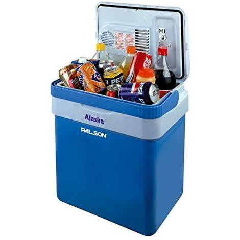 Thermo / réfrigérateur portable palson alaska 35128 capacité 25l connexion à la glacière ou au réchauffeur 12v.