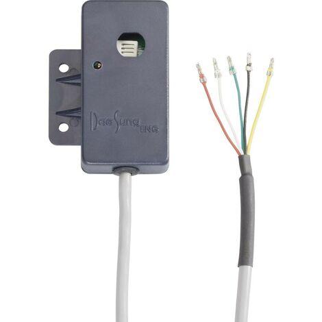 Thermocouple DS4000NH Type de sonde Thermistance NTC10K Gamme de mesure -40 à 65 °C Plage de mesure hygrométrique (gamme) 100 à 0 % HR Longueur du