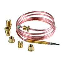 "Thermocouple - Thermocouple 6 fittings lgth 1200mm (M8 - M9 - M10 - 11/32"" - F6 - compression)"