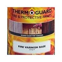 Thermoguard Fire Varnish Basecoat 20sq.mtr clear intumescent for wood