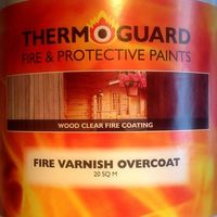 Thermoguard Fire Varnish Overcoat (select coverage and finish)