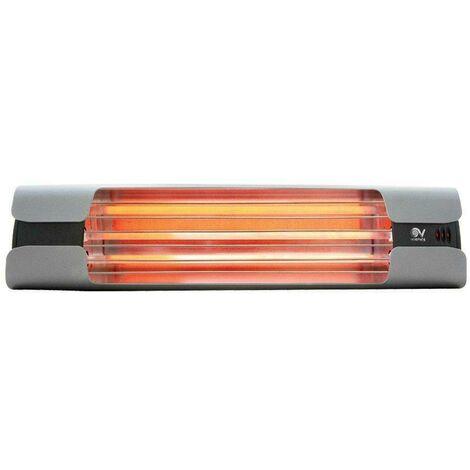 Thermologika design grey infrarared radio lamp 70004 0000070004