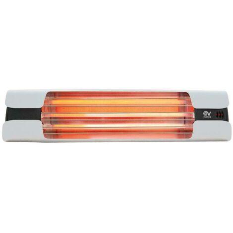 Thermologika design white lamp infrared spokes 70007 00000700070007