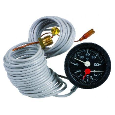 Thermomanometer 187802000 - ROCA BAXI : 147057013