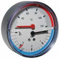 Thermomanometer Manothermometer Thermometer Manometer 4bar 20 bis 120°C P1497B073001