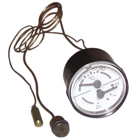Thermomanomètre à bulbe - DIFF pour ELM Leblanc : 87167577230