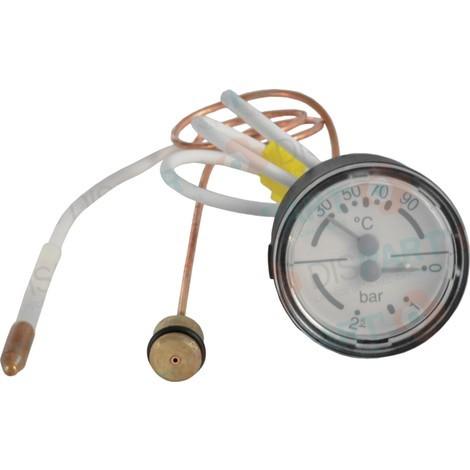 Thermomanomètre à bulbe Réf. 87167577230 ELM LEBLANC